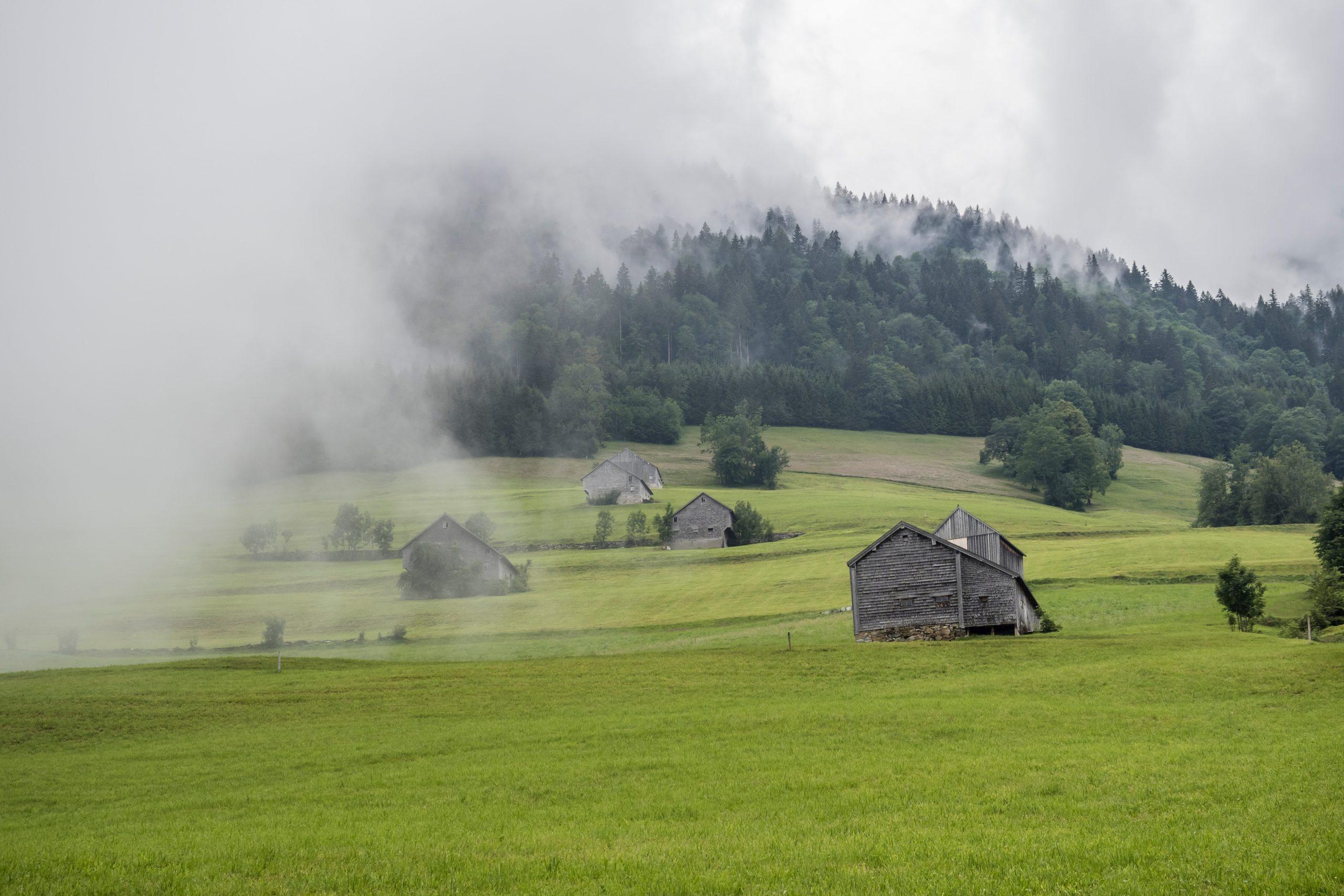 Einlagerungen in unserer ländlichen Lager im Bauernhof bei München (Foto von Hans-Jörg Keller via unsplash